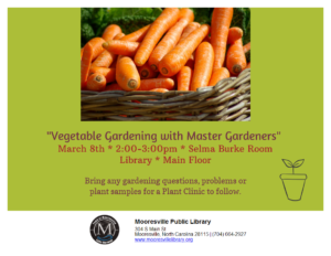 Cover photo for Vegetable Gardening With Master Gardeners