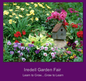 Garden poster for Iredell Garden Fair
