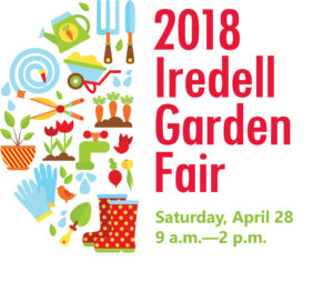 Cover photo for 2018 Iredell Garden Fair: April 28th 9am to 2pm