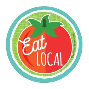 Eat local logo banner