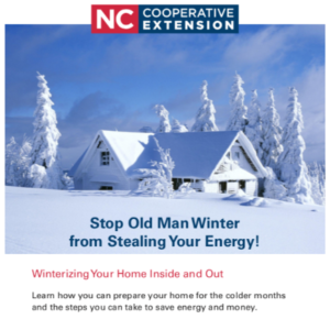 Cover photo for Tips for Winterizing Your Home Inside and Out