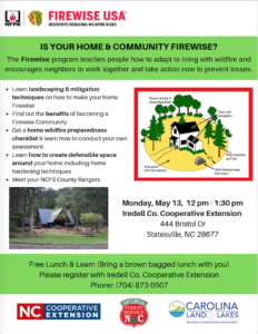 Cover photo for Is Your Home and Community Firewise?