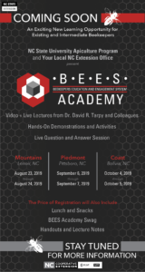 Cover photo for BEES Academy Upcoming Training