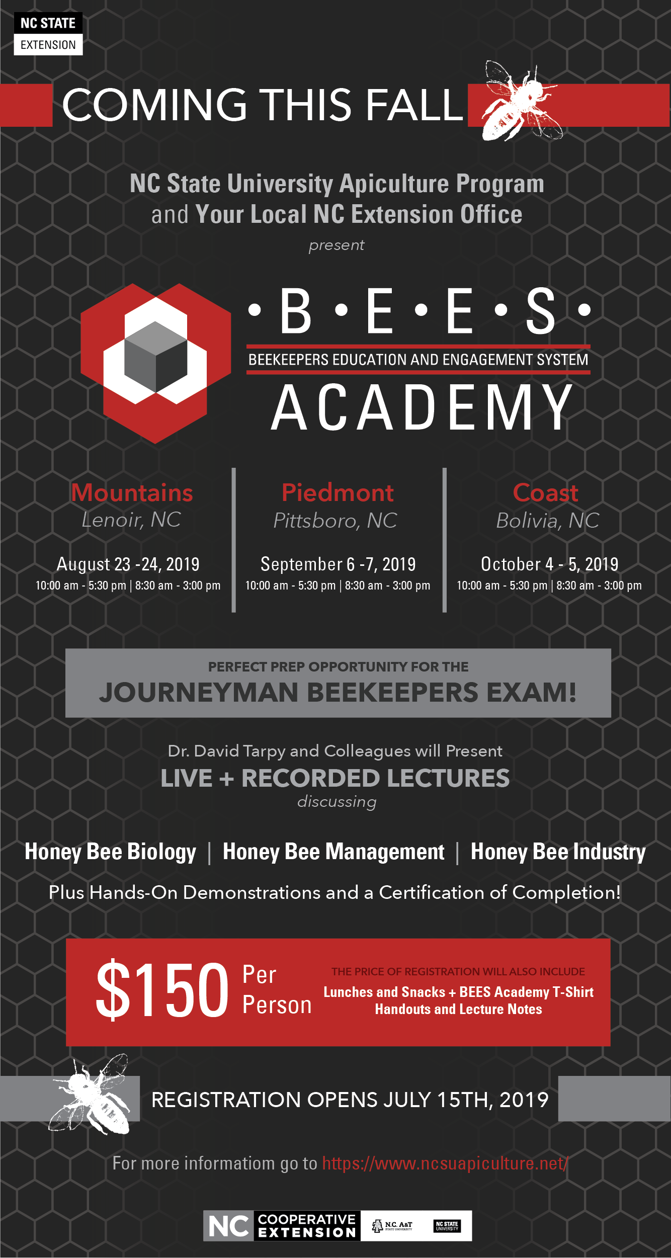 BEES Academy flyer image