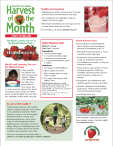 Steps to health Strawberry Info 1