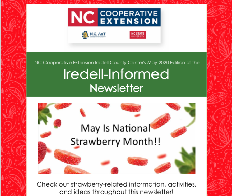 Iredell-Informed Newsletter May 2020 Edition