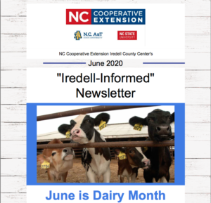 Iredell-Informed Newsletter June 2020