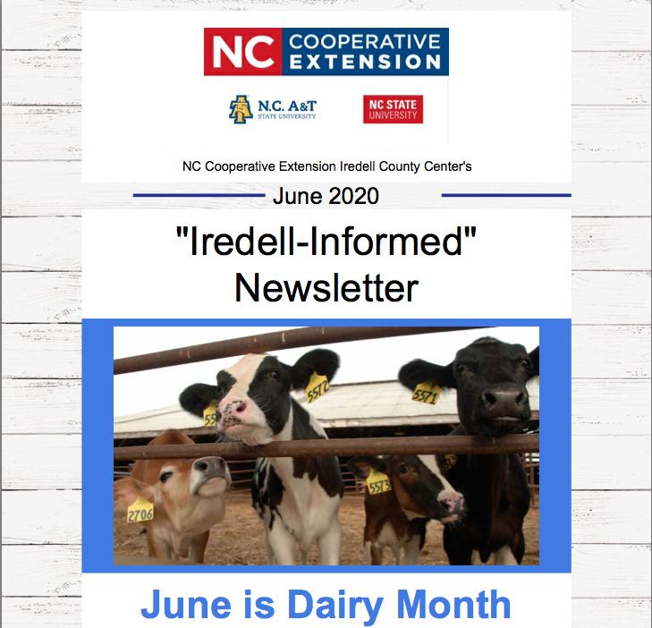 Iredell-Informed Newsletter June 2020
