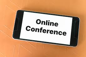 """Online Conference"" on phone screen"