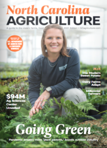 Cover photo for North Carolina Agriculture Magazine