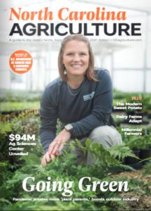 Cover photo for North Carolina Agriculture Magazine