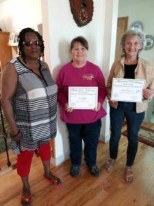 Cover photo for Joyce Dobson Receives ECA Outstanding Volunteer Award